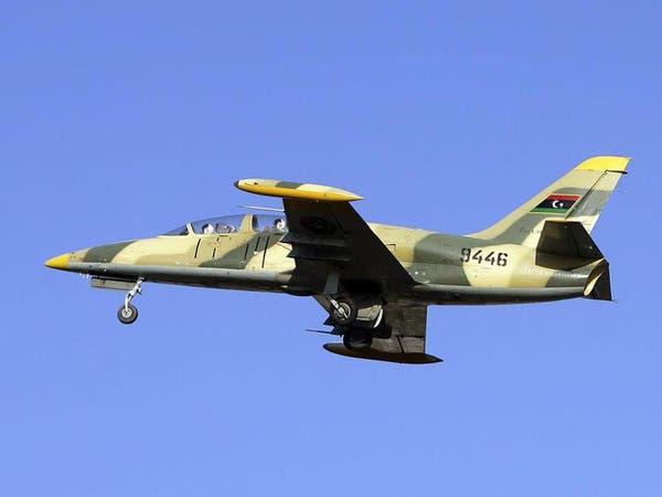 سلاح الجو الليبي يقصف معسكرا لميليشيات فجر ليبيا