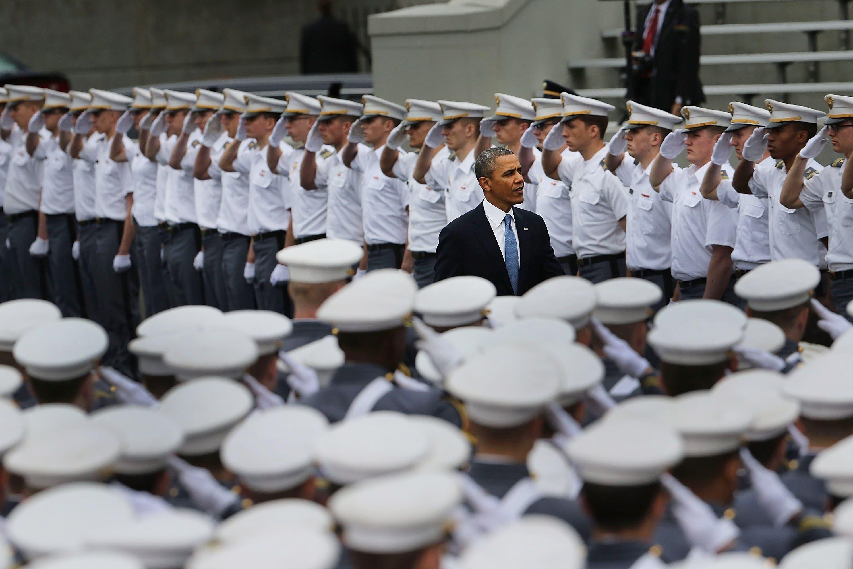 Barack Obama AFP West Point
