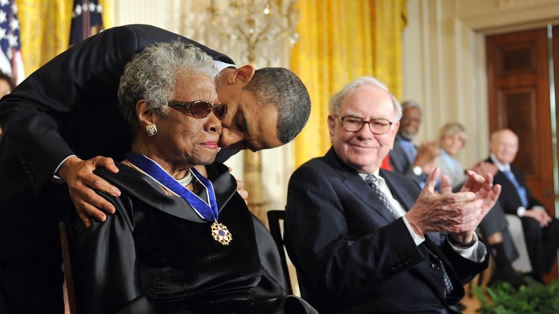 Maya Angelou AFP