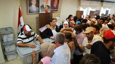 Syrians in Lebanon vote for president for 2nd day