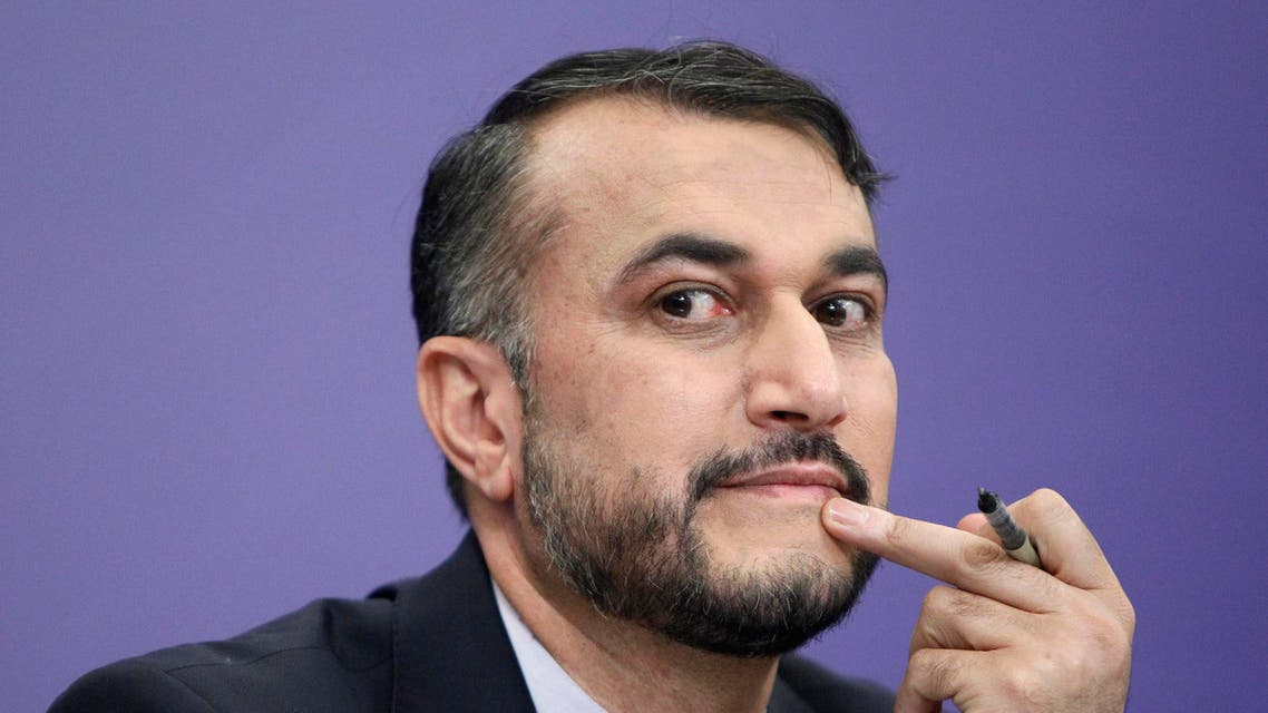 Iran's Deputy Minister for Arab and Foreign Affairs Hossein Amir Abdollahian attends a news conference in Moscow. (File photo: Reuters)