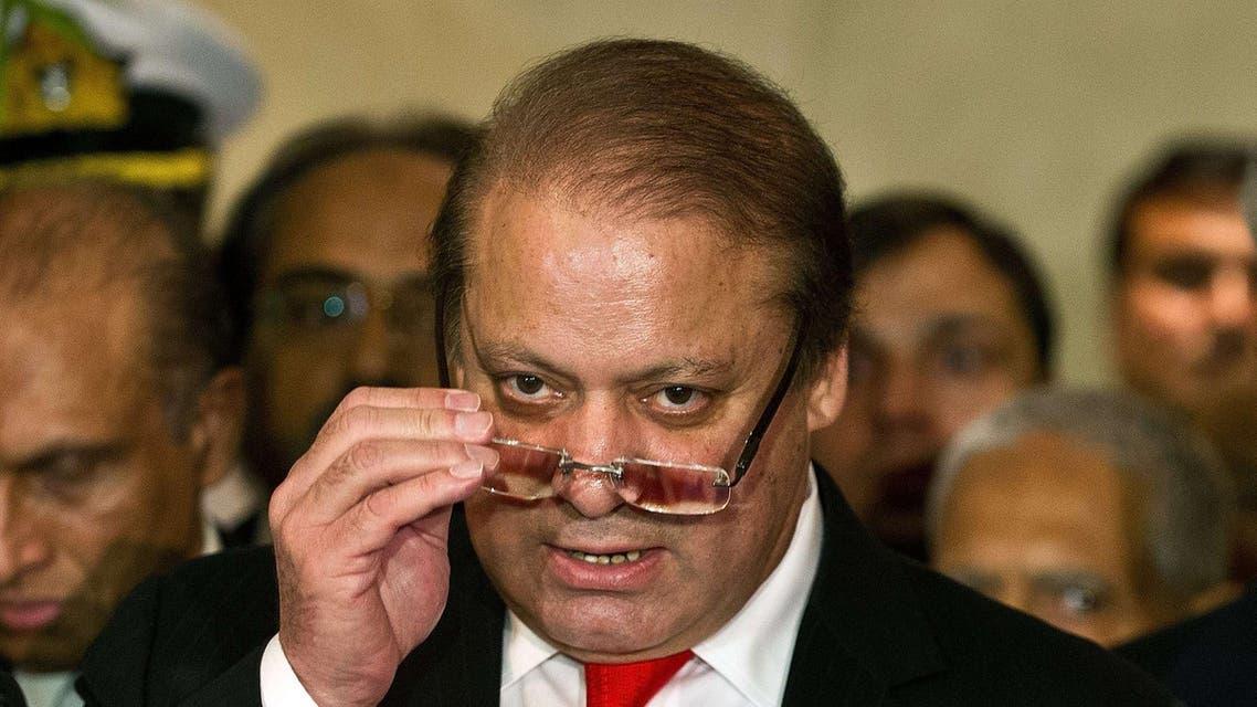 Pakistan PM Sharif (AFP)