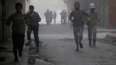 براميل الأسد المتفجرة تنقلب على جيشه بحلب.. وتقتل 22