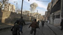 Aleppo air raids kill almost 2,000 in 2014