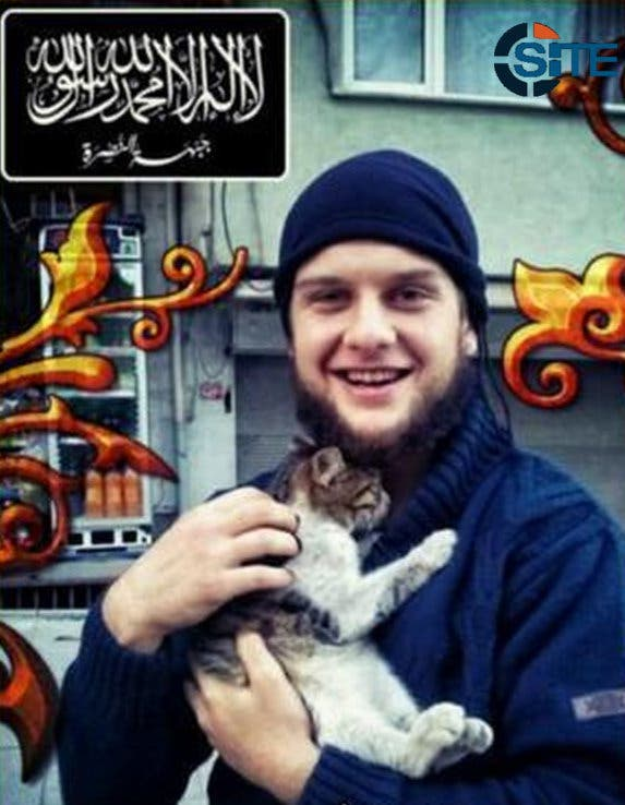 The American suicide bomber was identified as Abu Hurayra al-Amriki. (Photo courtesy: Facebook)