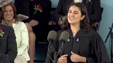 Video: Sarah Abushaar addresses Harvard Commencement 2014