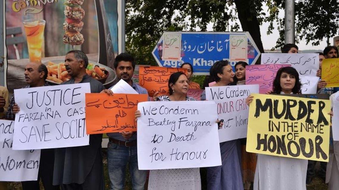 Pakistanis protest honor killings