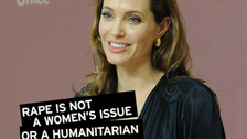 Jolie in crackdown on sexual violence in conflict