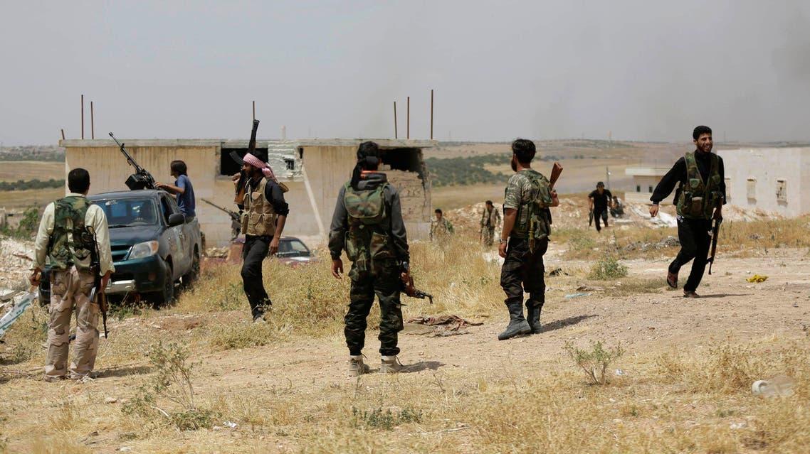 عناصر من الجيش الحر السوري