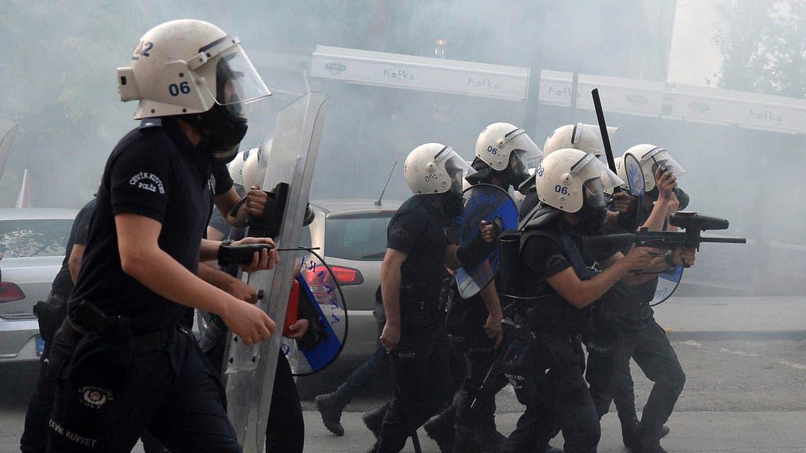 turkey riot police reuters