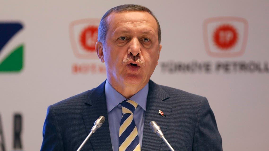 Turkey's Prime Minister Tayyip Erdogan speaks during a signing ceremony in Istanbul May 30, 2014. (Reuters)