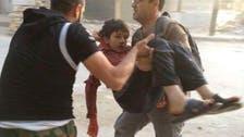 بائع البسكويت.. الطفل الذي فجرته براميل الأسد