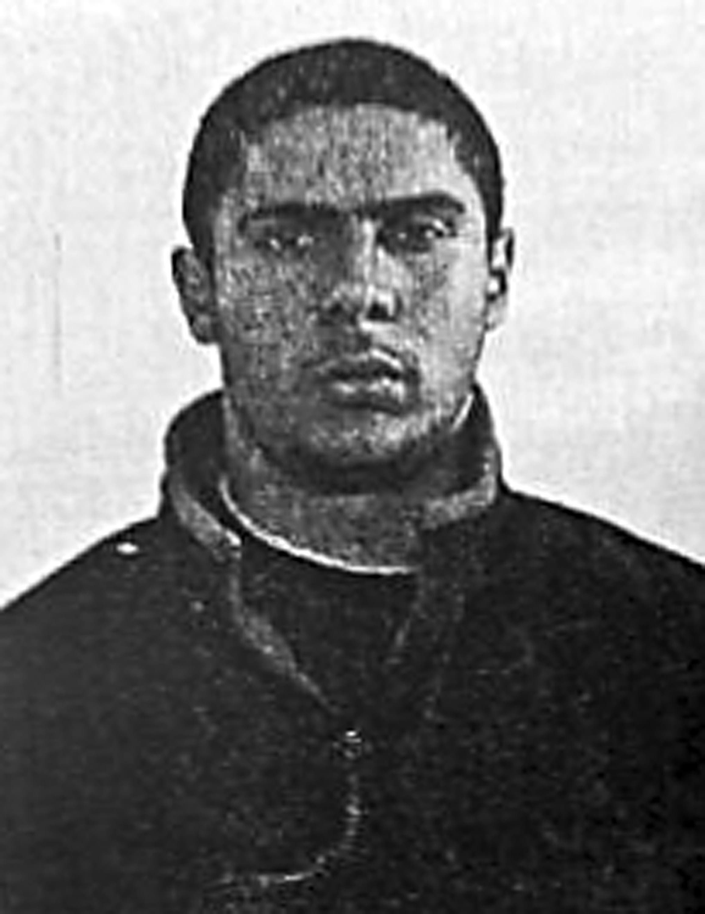 A picture released on June 1, 2014 shows the 29-year-old suspected gunman Mehdi Nemmouche. (AFP)