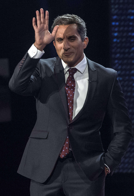 Bassem Youssef (AFP)