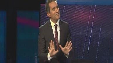باسم يوسف: خائف على عائلتي إذا استمر البرنامج