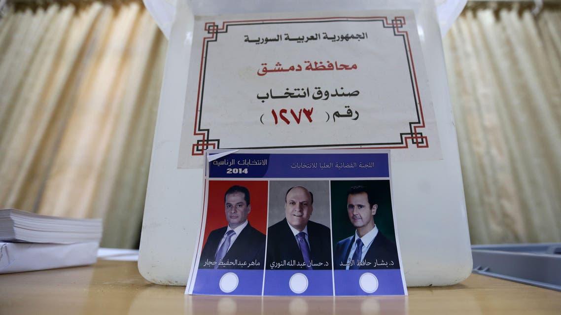 ballot syria