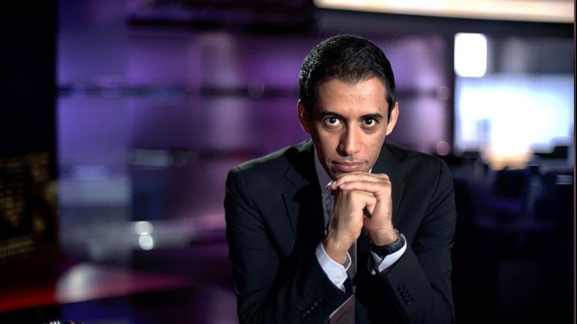 Battal Algoos is the presenter of the Al Arabiya News Channel's 'Fi al-Marma' (In the Goal)
