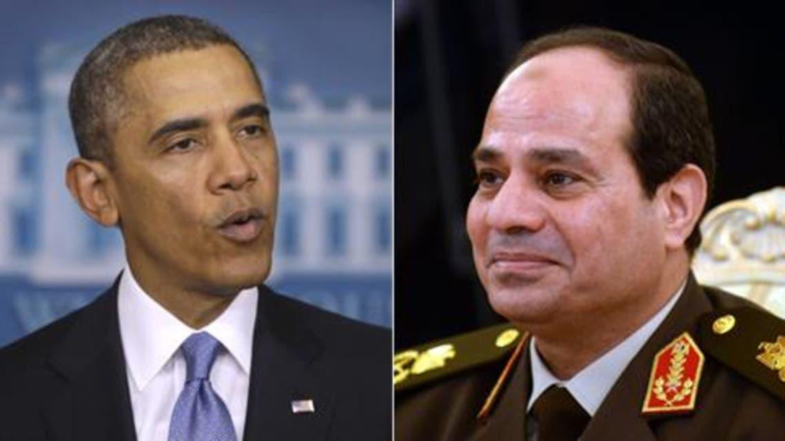 أوباما والسيسي