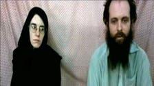 Video: Western couple held by Taliban in Afghanistan