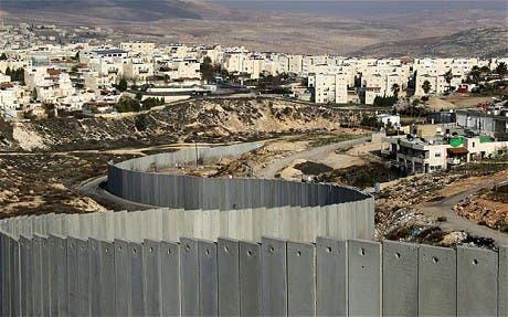 جدار الفصل الاسرائيلي في الضفة الغربية المحتلة