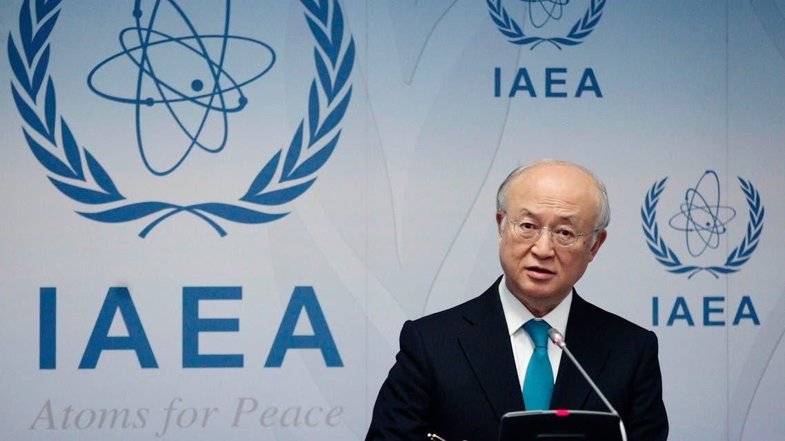 يوكيا أمانو في فيينا حول النووي الإيراني