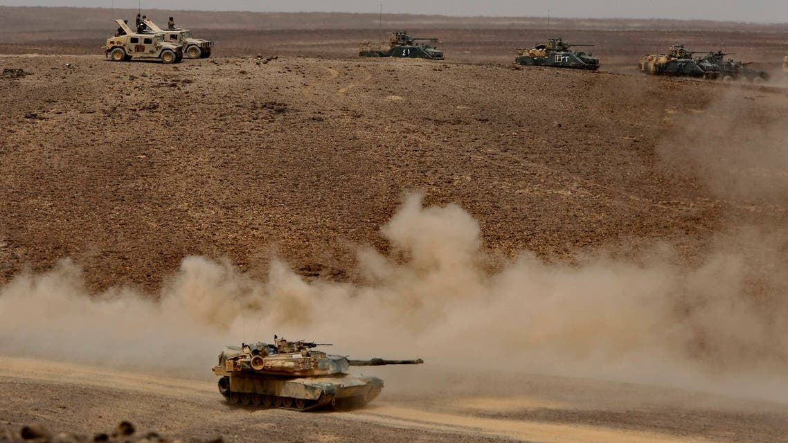 الأسد المتأهب في الأردن