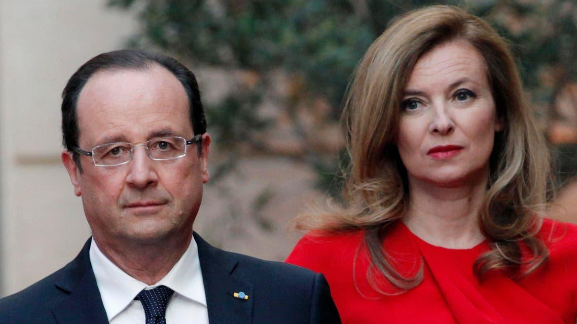 France Valerie Trierweiler reuters