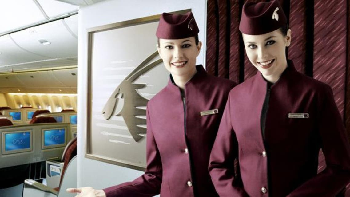 Qatar Airways was blasted last September for forcing its female workers to seek permission from the company when they decide to get married. (Photo courtesy of http://cabincrew24.com)
