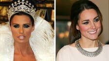 It's Katie vs. Kate: model advises duchess to cover up