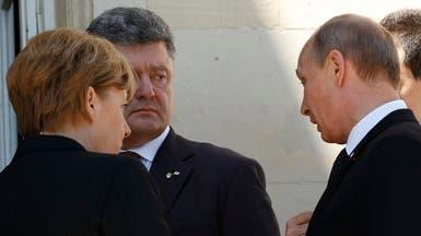 أول لقاء بين بوتين ورئيس أوكرانيا المنتخب