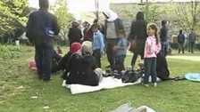 Syrian refugees find ways to smuggle themselves into EU
