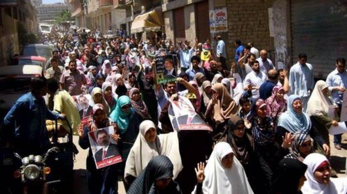 مسيرات لأنصار الاخوان في الاسكندرية