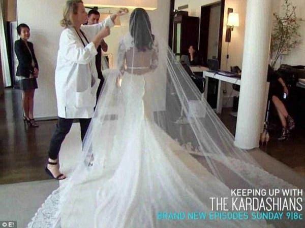 بالفيديو.. كواليس زفاف كيم كارديشيان