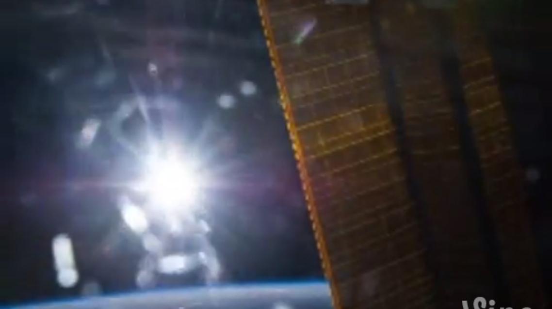 """رائد فضاء ينشر أول مقطع فيديو """"فاين"""" من الفضاء"""