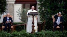 اسرائیلی ، فلسطینی مذاکرات جاری رکھیں:پوپ فرانسیس