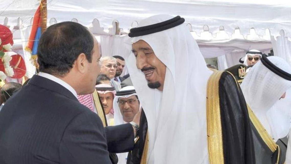 الأمير سلمان والسيسي