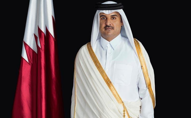 Qatar emir QNA