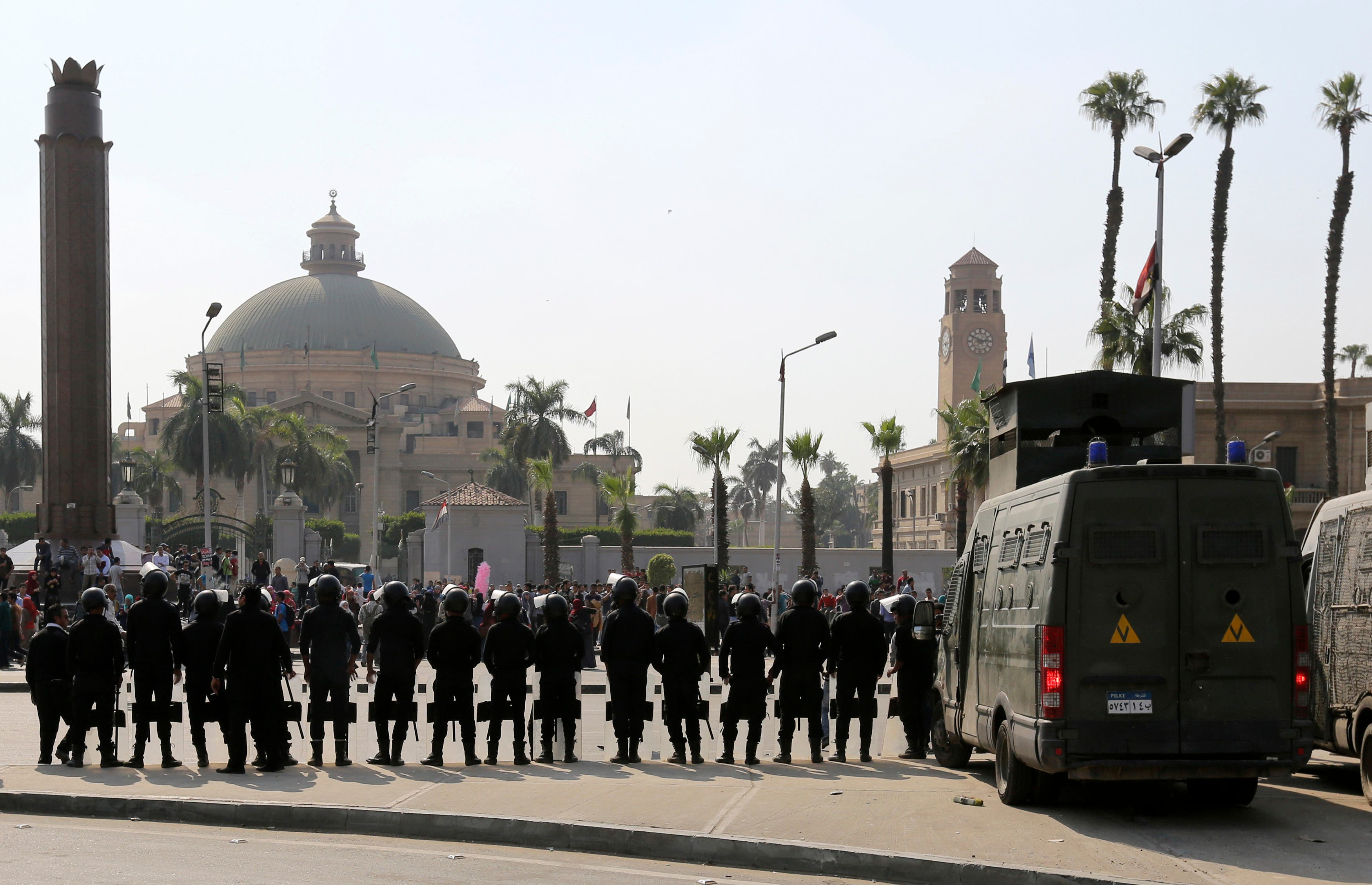 egypt riot police reuters