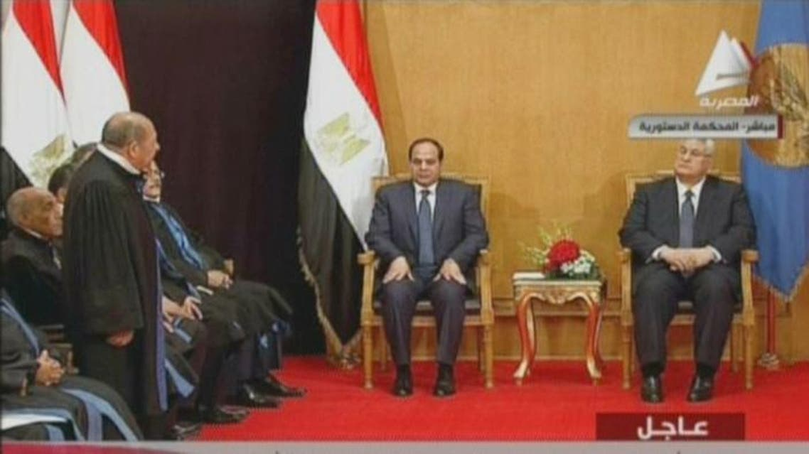 Sisi sworn in as Egypt's president