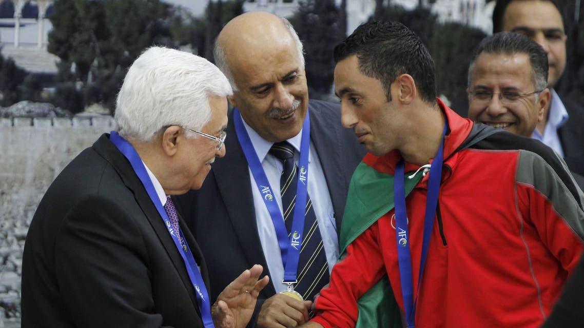 Mahmoud Abbas Jibril Football AFP