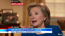 Hillary Clinton says she and husband were 'dead broke' leaving White House