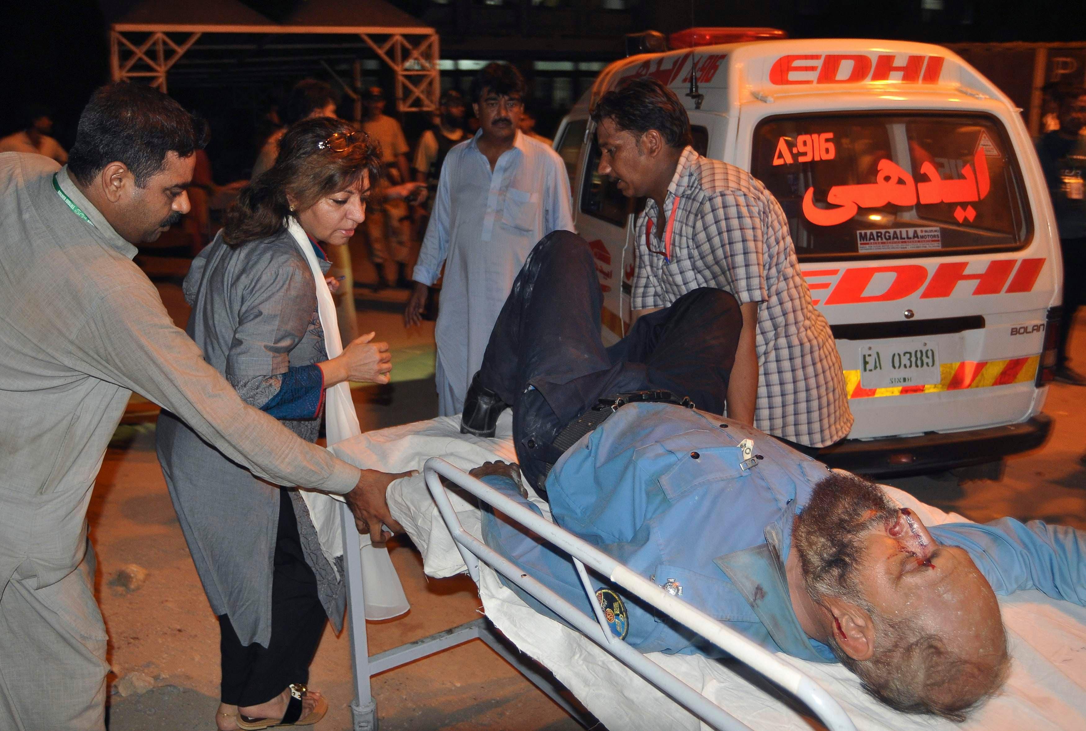 جوم لطالبان على مطار كراتشي3