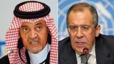 Saudi Arabia, Russia discuss Syrian crisis
