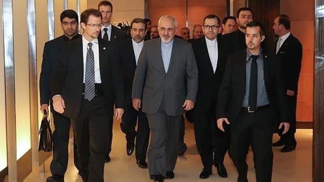 محمد جواد ظريف في مفاوضات النووي الإيراني