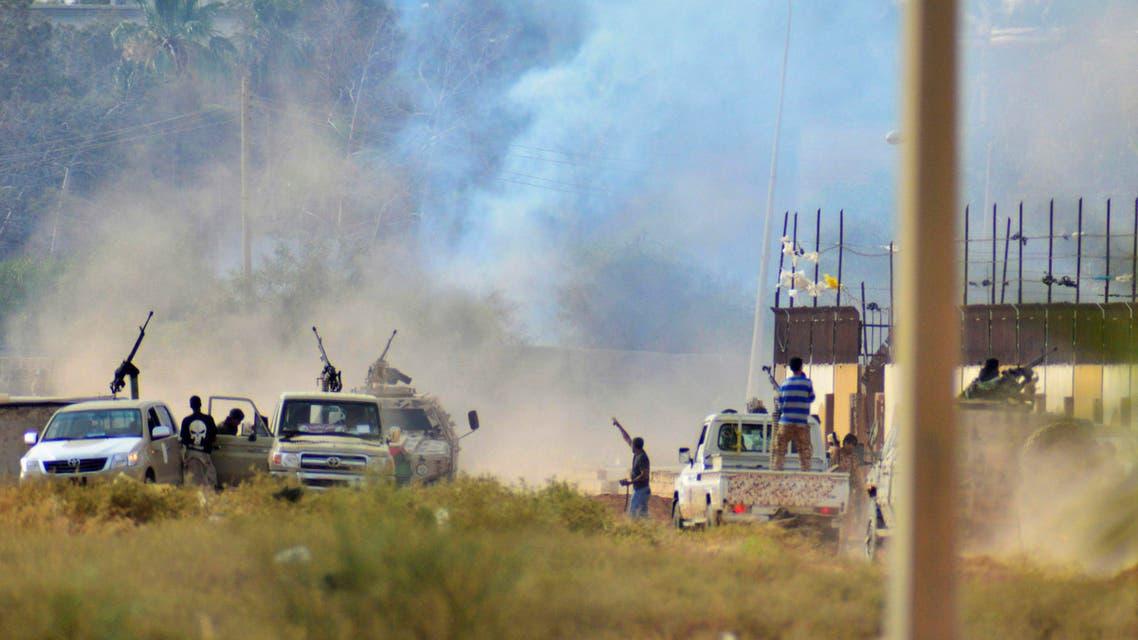 اشتباكات في بنغازي ليبيا