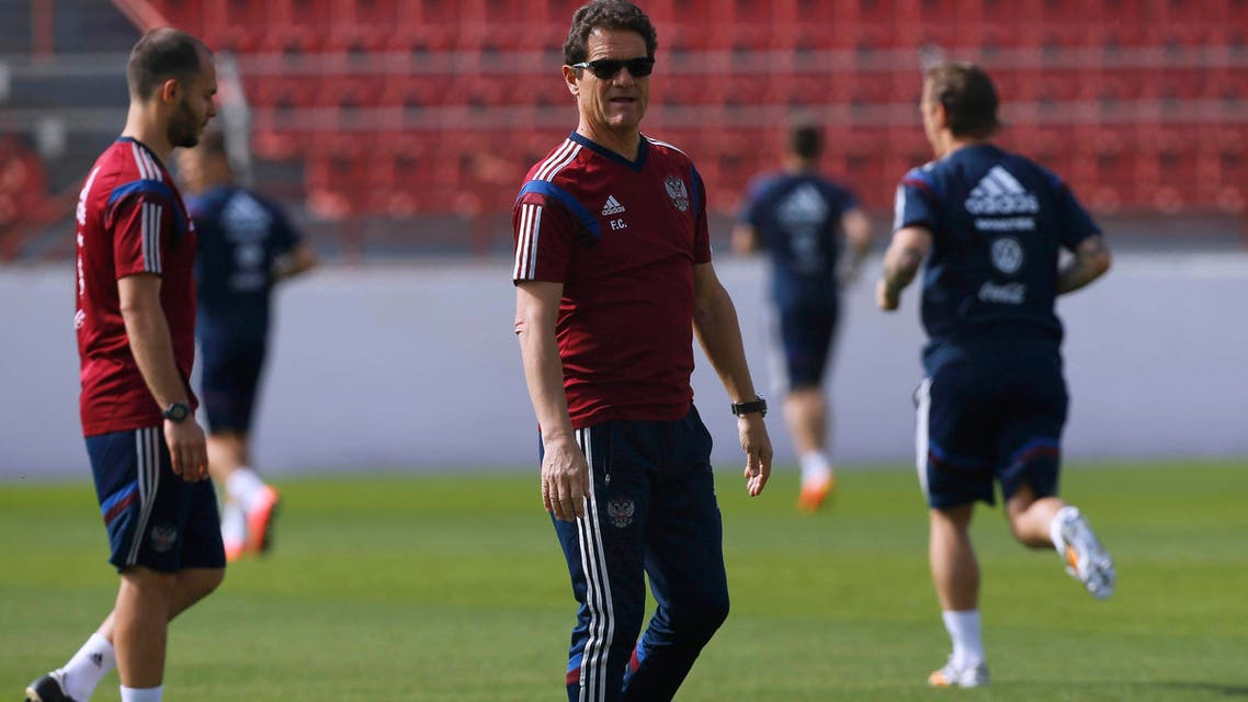 فابيو كابيلو يقود تدريبات منتخب روسيا