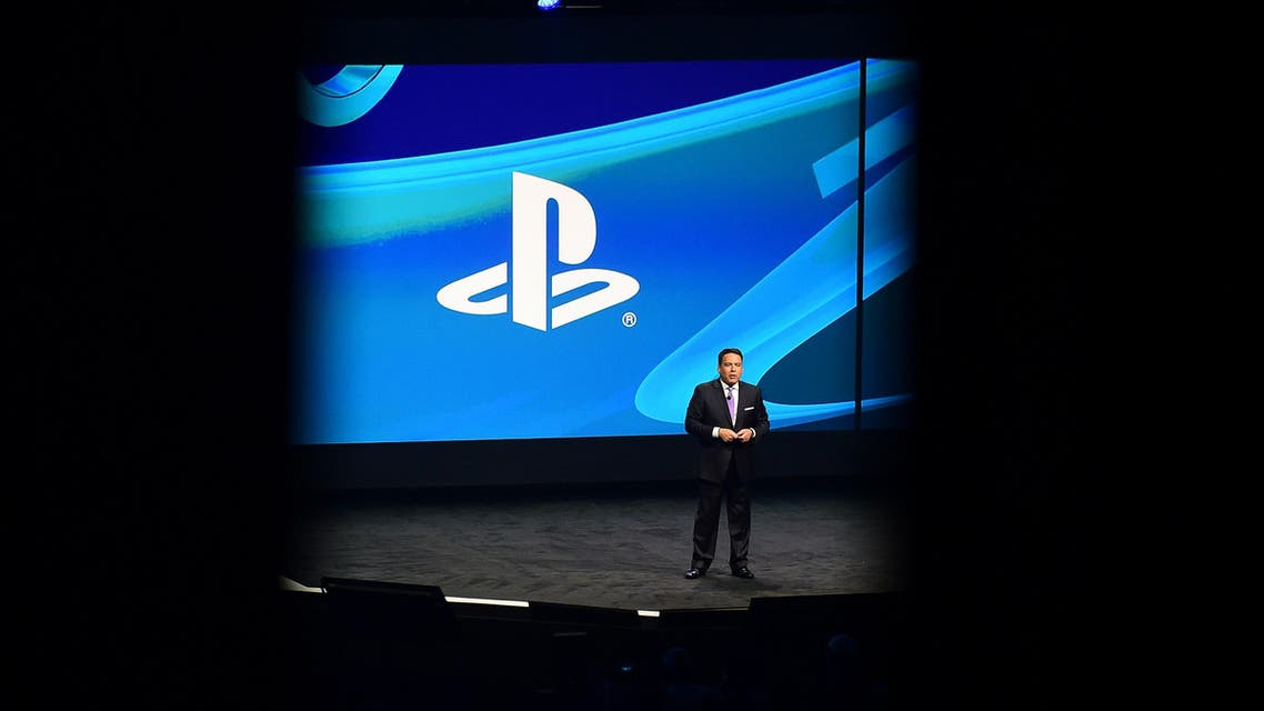 Shawn Layden, President and CEO of Sony Computer Entertainment America, speaks at the Sony Playstation press conference on the eve of the annual E3 video game extravaganza in Los Angeles, California on June 9, 2014