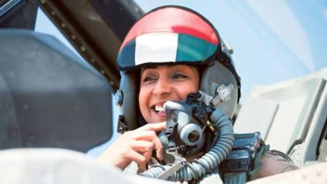 Mariam Hassan Salem al-Mansouri pilot UAE WAM