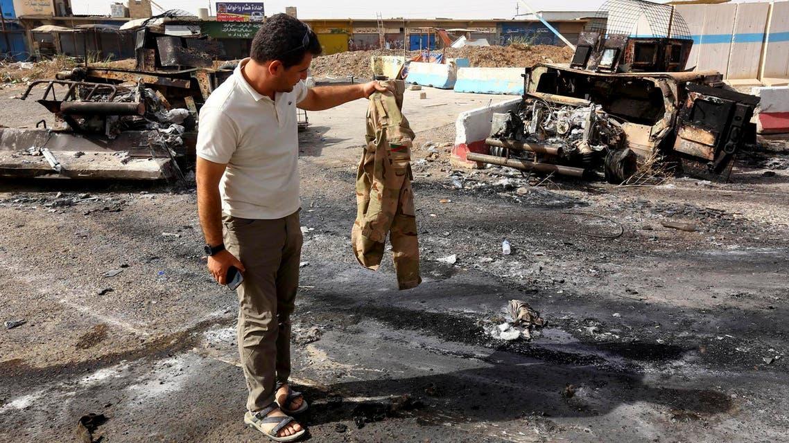 اشتباكات بين الجيش العراقي وداعش في الموصل