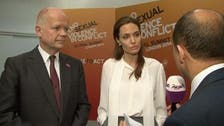 Al Arabiya exclusive: Angelina Jolie, William Hague talk sexual violence in conflicts